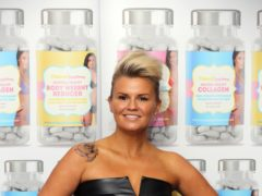 Kerry Katona has shown off her startling weight loss (PA)
