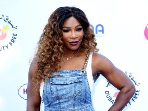 Serena Williams (Ian West/PA)