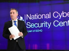 Ciaran Martin, the head of the UK's National Cyber Security Centre (Stefan Rousseau/PA)