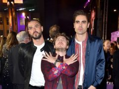 Busted are in the running to land their first number one album (Matt Crossick/PA)