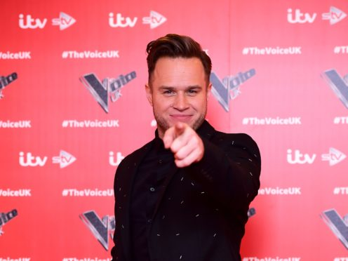 Olly Murs suffered body odour during Saturday's live show (Ian West/PA)