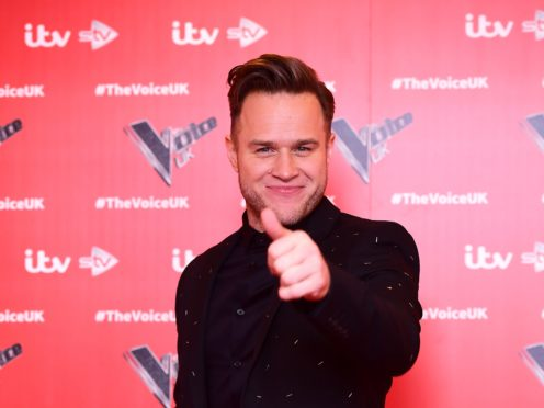 Olly Murs attracted attention on The Voice (Ian West/PA)