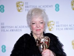Thelma Schoonmaker received the Fellowship Award at the Baftas (Ian West/PA)