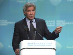Harrison Ford at the World Government Summit in Dubai (Jon Gambrell/AP)