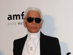 Fashion designer Karl Lagerfeld dies (Ian West/PA)