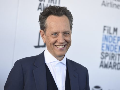 British actor Richard E Grant won best supporting male at the Film Independent Spirit Awards (Jordan Strauss/Invision/AP)
