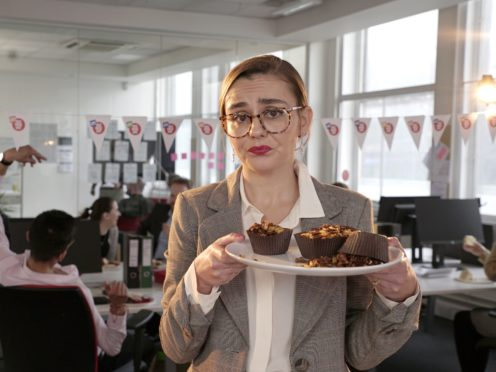 Still from the new series of sketches for Comic Relief. (Comedy Central)