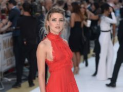 Amber Heard said more must be done on gender equality (Anthony Devlin/PA)