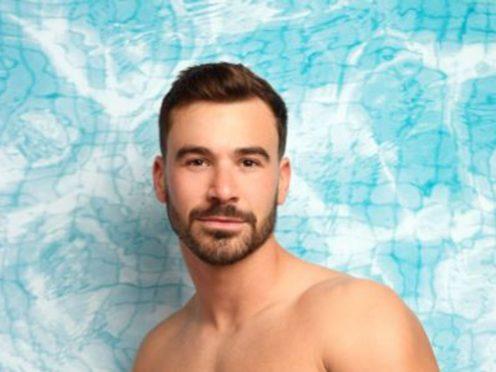 Former Love Island star Alex Miller (ITV/PA)