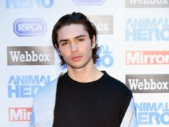 Singer George Shelley has said he spent 12 months 'in my bedroom in the darkness' (Ian West/PA)