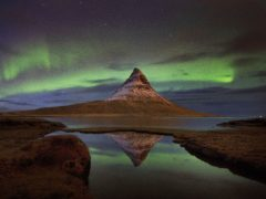 Meterologists say the Northern Lights could be visible over Scotland this weekend (Owen Humphreys/PA).