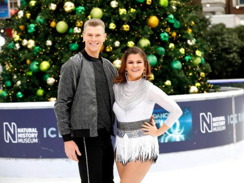 Hamish Gaman and Saara Aalto will appear in the Dancing On Ice finale (David Parry/PA)