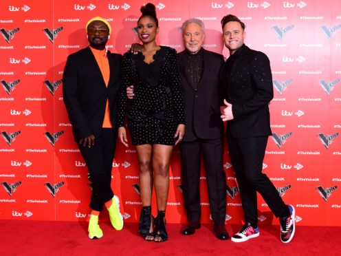 Four acts have made it through to The Voice UK final (Ian West/PA)