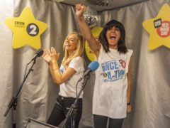 Claudia Winkleman and Tess Daly are taking part in a Comic Relief challenge (Tom Martin/Comic Relief)