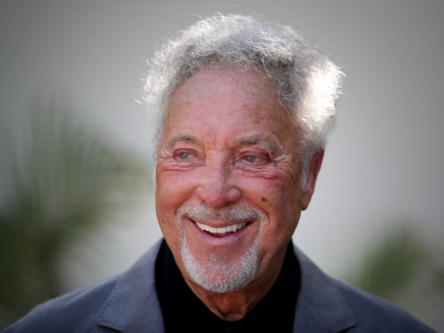 Singer Sir Tom Jones has said people in showbusiness should be clear about who they love (Jane Barlow/PA)
