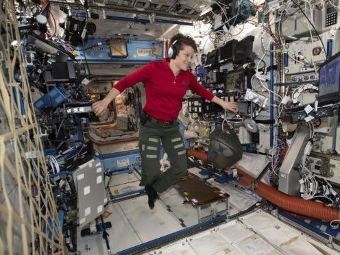 Nasa astronaut Anne McClain (Nasa via AP)