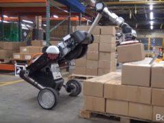 Boston Dynamics's Handle robot (Boston Dynamics/PA)