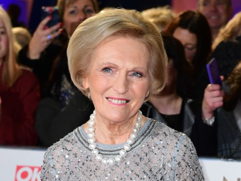 Mary Berry: I calorie count and I don't snack to stay in shape (Ian West/PA)