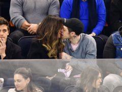 Kate Beckinsale and Pete Davidson kissing (JD Images/REX/Shutterstock)