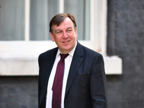 Former culture secretary John Whittingdale has warned ministers risk 'giving succour to Britain's enemies' as they crack down on social media firms (Dominic Lipinski/PA)