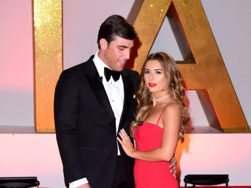 Jack Fincham and Dani Dyer (PA)