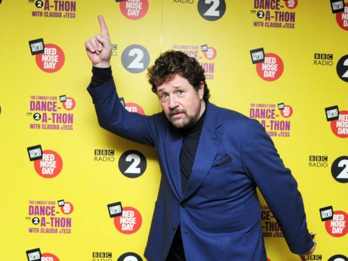 Michael Ball used to suffer from nerves and panic attacks when he was younger (Comic Relief/PA)