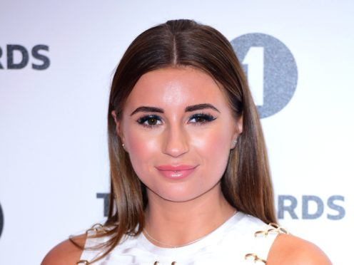 Love Island winner Dani Dyer has split with Jack Fincham (Ian West/PA)