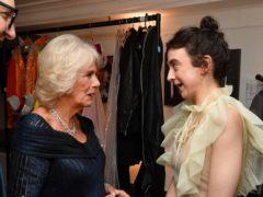 The Duchess of Cornwall congratulated Patsy Ferran (John Stillwell/PA)
