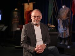 Actor Liam Cunningham, who plays Davos Seaworth in Game of Thrones, at the launch of the Game of Thrones touring exhibition at the Titanic Exhibition Centre in Belfast (Liam McBurney/PA)