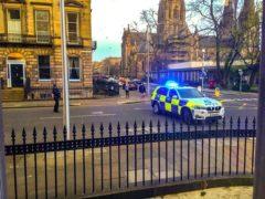 Police are investigating the suspicious death in Edinburgh (Alasdair Morton/Twitter/PA)