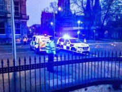 Police earlier said they were investigating a 'suspicious' death (Alasdair Morton/PA)
