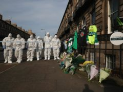 A murder investigation has been launched into the death of Bradley Welsh, who was shot dead outside his Edinburgh home (Jane Barlow/PA)