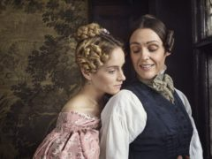 Sophie Rundle and Suranne Jones in Gentleman Jack (Lookout Point/Jay Brooks/PA)