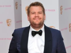 James Corden arrives for the House of Fraser British Academy of Television Awards at the Theatre Royal, Drury Lane (Hannah McKay/PA)