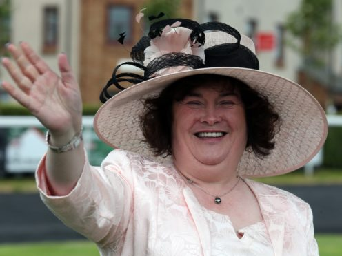 Susan Boyle has reached out to her fellow singer. (Andrew Milligan/PA)