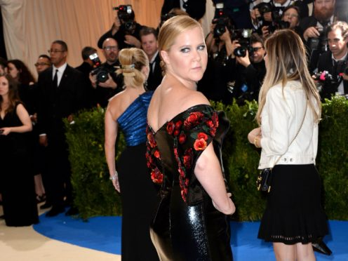 Amy Schumer has not been shy about showing the less glamorous side of motherhood (Aurore Marechal/PA)