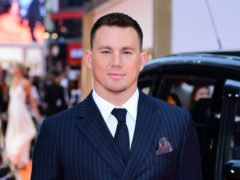 Channing Tatum shared the image on Instagram (Ian West/PA)
