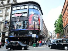 The Queens Theatre in London is the home of Les Miserables (Ian West/PA)