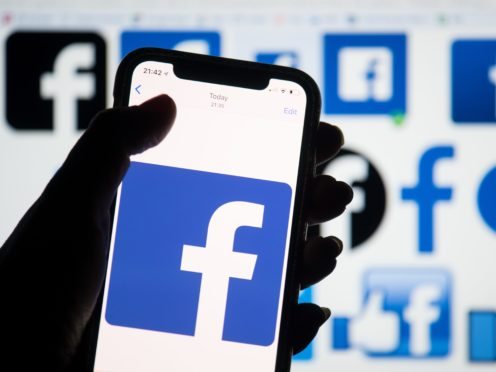 Facebook co-founder Chris Hughes said government needed to hold the firm to account (Dominic Lipinski/PA)
