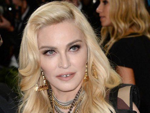 Madonna will play the London Palladium (Aurore Marechal/PA)