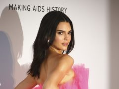 Model Kendall Jenner at the charity event (Joel C Ryan/Invision/AP)