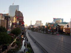 The Strip in Las Vegas (Dave Thompson/PA)