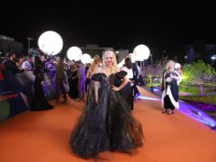 Kate Miller-Heidke at the opening ceremony of the Eurovision Song Contest 2019 (Thomas Hanses)