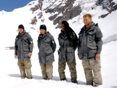 The final four on SAS: Who Dares Wins (Channel 4 Televsion)