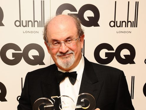 Sir Salman Rushdie (Ian West/PA)