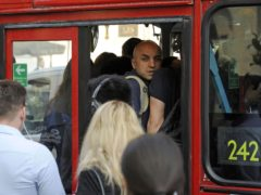 Google has added crowdedness predictions for public transport (Lauren Hurley/PA)