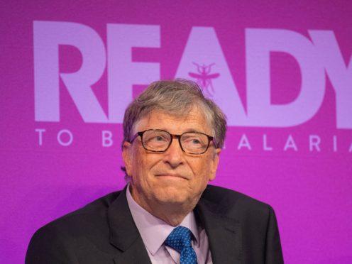 Microsoft co-founder Bill Gates (Dominic Lipinski/PA)