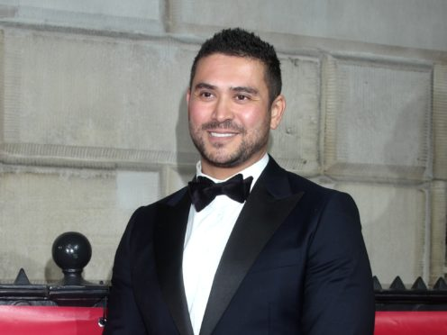 Rav Wilding stars in Channel 4's new daytime show hosted by Kirstie Allsopp Kirstie's Celebrity Craft Masters (Yui Mok/PA)