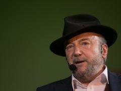George Galloway has been sacked by talkRADIO (Daniel Leal-Olivas/PA)