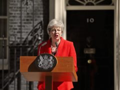 Prime Minister Theresa May makes a statement in Downing Street (Yui Mok/PA)